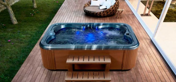 Jacuzzi exterior o piscina hidromasaje